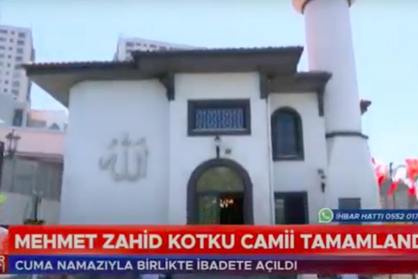 Mehmet Zahid Kotku Camii Açılışı - Kanal 7